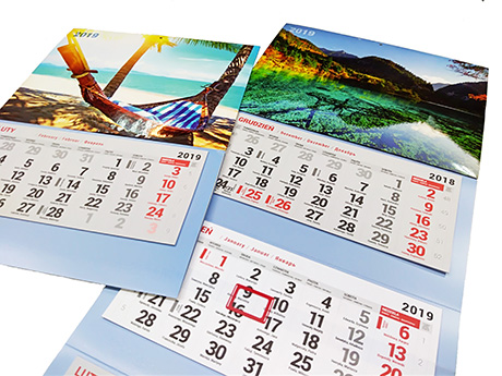 Kalendarze - Bydgoszcz
